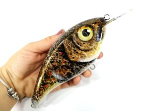 Gold Digger Slim Musky Lure