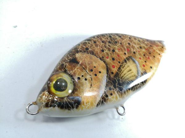 Custom Lures Jerkbait Brown Trout 2