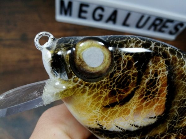 Gold Walleye, Megalures, Custom lures, musky lures