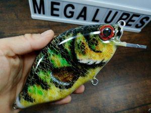 Perch, MiniCrank, Megalures, Custom lures