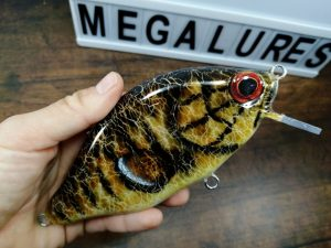 Smallmouth Bass, MiniCrank, Megalures, Custom lures, musky lures