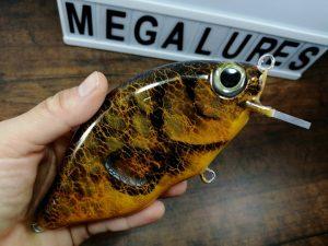 Carp, MInicrank, Mega lures, wooden lures, fishing