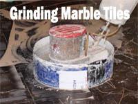Grinding Marble Tiles
