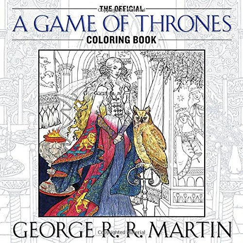 Game of Thrones Coloring Book - Megan & Wendy Gift Guide 2015