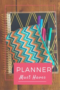Get Organized: Planner Essentials