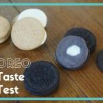 New Oreo Flavor Taste Test