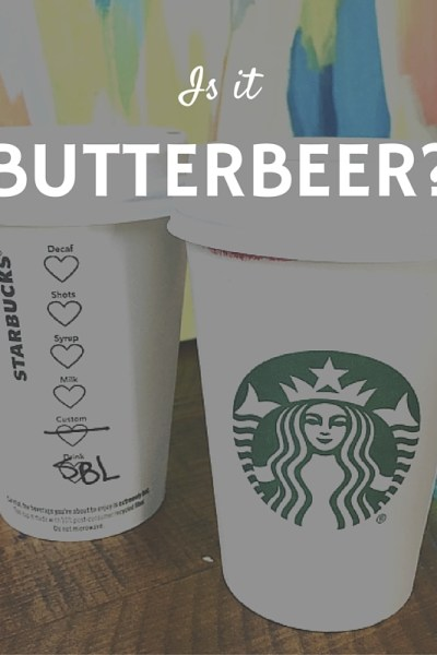 Does the Smoked Butterscotch Latte taste like Butterbeer?