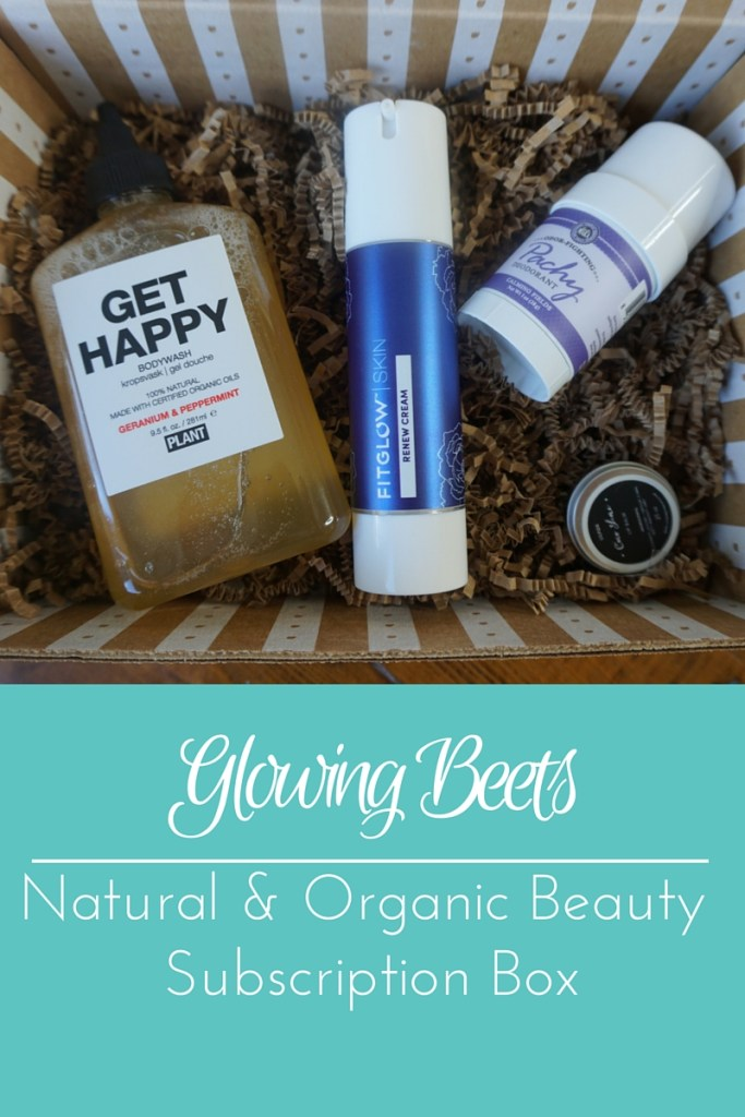 Glowing Beets Natural & Organic Beauty Subscription