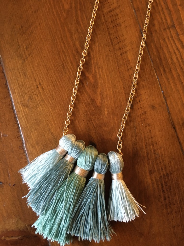 Miss Ivy Tassel Necklace - POPSUGAR Must Have March 2016