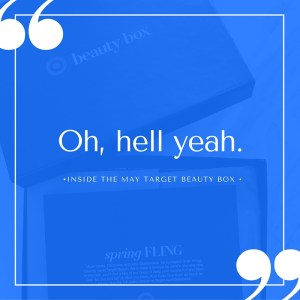 What's Inside the Target #BeautyBox