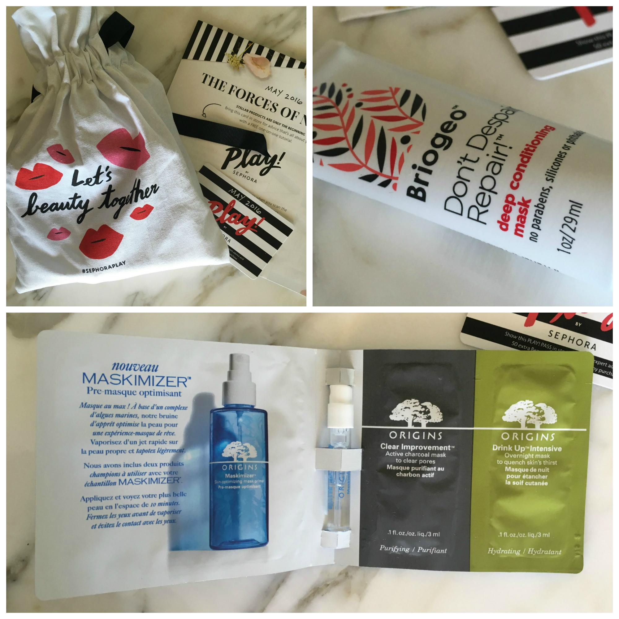 Inside the May Play! by Sephora Beauty Box - Long Story Short