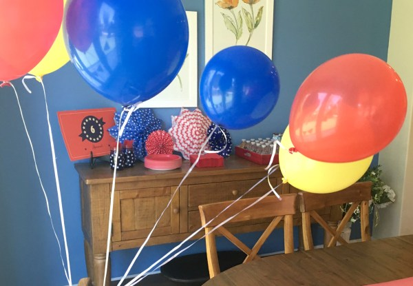 SuperHero Birthday Party - all of the details on decor, activities, food and party favors to throw your very own Superhero Birthday Party