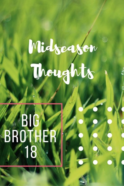 Big Brother 18 - Thoughts on recent evictions, current Head of Household and future predictions