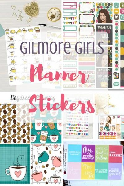 Gilmore Girls Planner Sticker Roundup