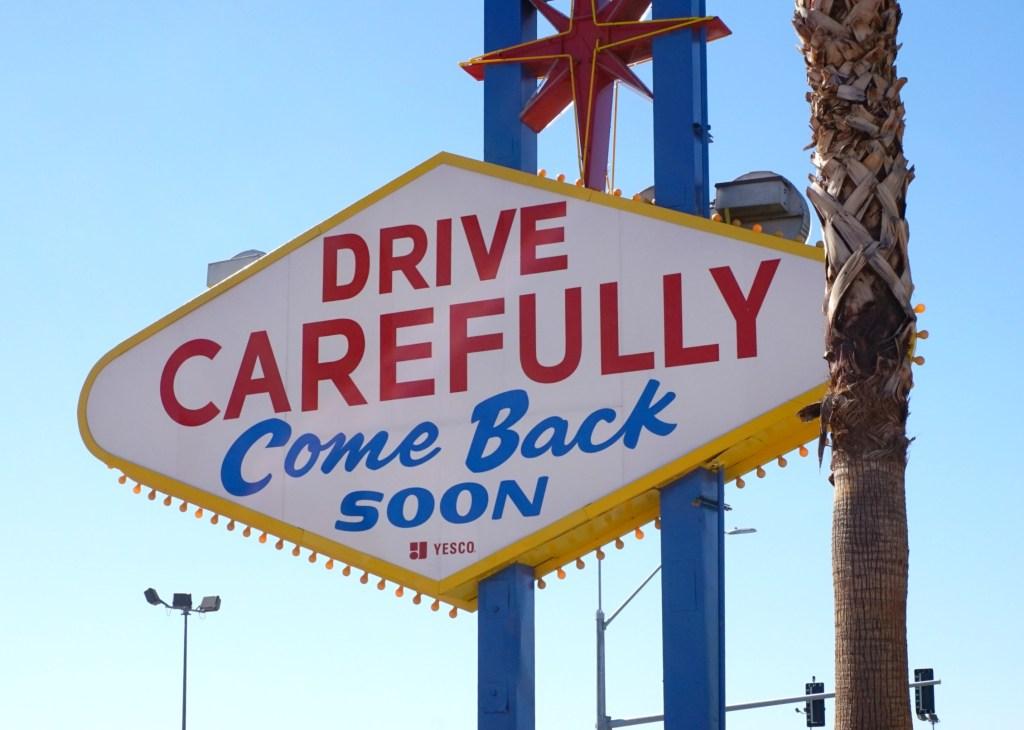 Las Vegas Road Trip - Las Vegas Sign