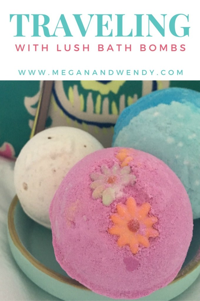 How to Travel with a Lush Bath Bomb
