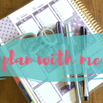 Plan With Me(gan)