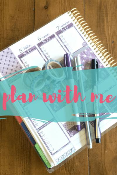 Plan With Me(gan)