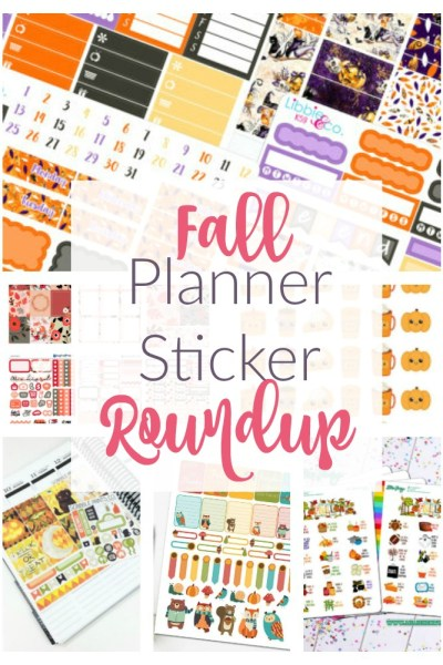 Fall Planner Sticker Roundup