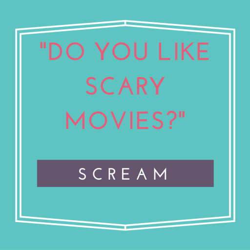 Iconic Halloween lines from the horror movie Scream. | #HalloweenMovies #Scream