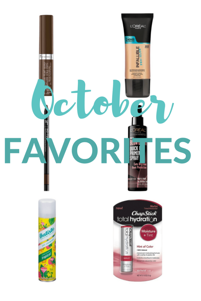 Megan and Wendy share their October fashion, beauty and lifestyle favorites.