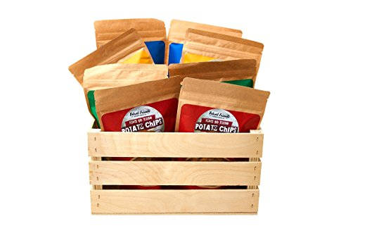 Detroit Friends Potato Chip Crate - The best of Oprah's Favorite Things