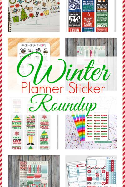 Winter Planner Sticker Roundup
