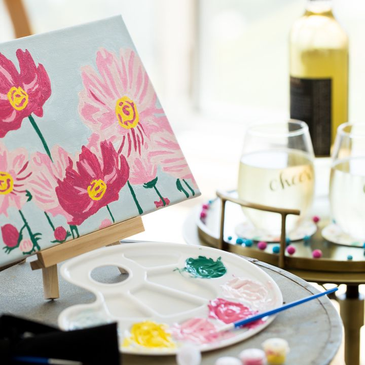 Thoughtfully - Cheers to Art gift set