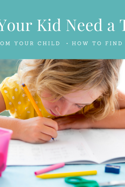 Why Your Child Might Be Ready For a Tutor