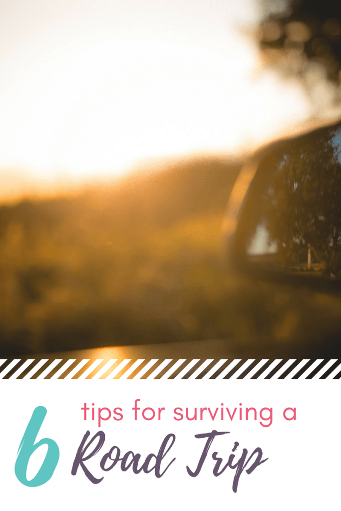 6 tips for surviving your upcoming road trip. Traveling with children can be a lot of fun if you plan ahead! Follow these easy tips for road trip success and enjoy the ride!