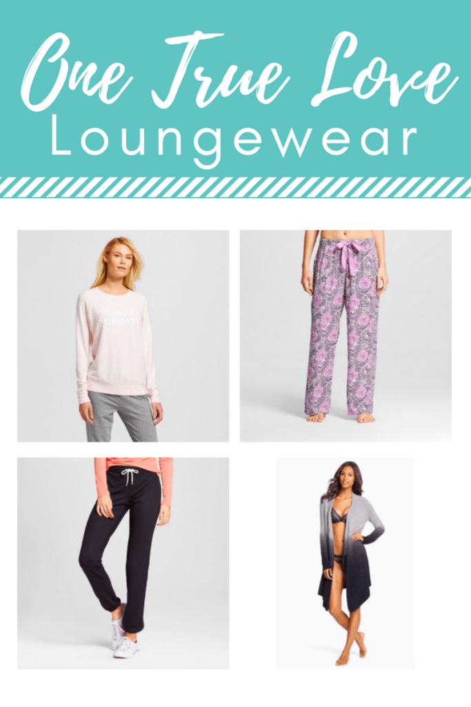 One True Love Loungewear - We're sharing our favorite loungewear -the clothes that we just can't wait to put on when we're home for the day. We would love it if you would share your most comfortable clothes with us! #lssonetruelove