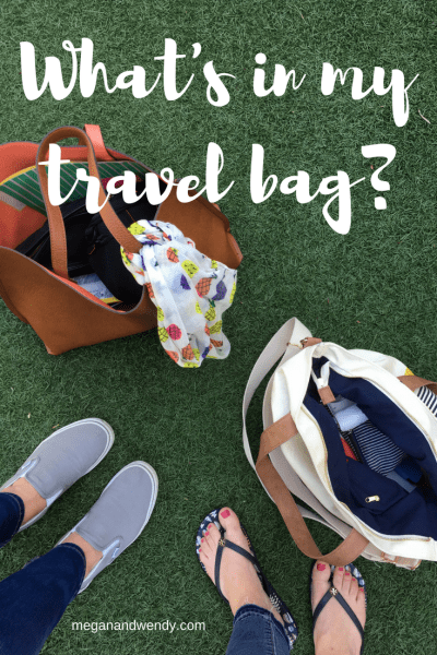 What's in my travel bag? We're sharing everything we pack for travel from the beauty items we can't live without, to our must have for flying and road trips.