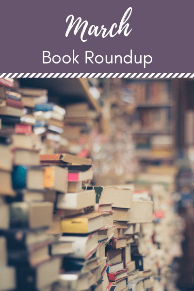 March 2017 Book Roundup - A list of book reviews from everything I read this month -the good the bad and the in between!