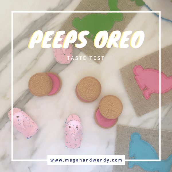 Wondering how tasty the new Peeps Oreo cookies are? We've got a taste test video for you to watch. Two words: House Divided!