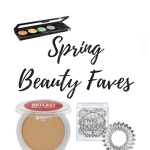 Spring Beauty Faves - We're sharing our favorites in beauty for spring. We've included the makeup, skincare and hair accessories that we just can't live without!