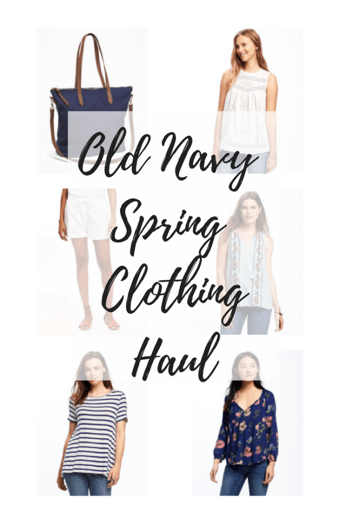 Old Navy Spring Clothing Haul
