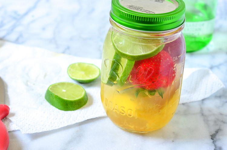 Strawberry-Mango-Infused-Water from Courtney's Sweets