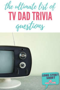 Ultimate TV Dad Trivia Questions