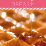 Waffles and Syrup Oreos