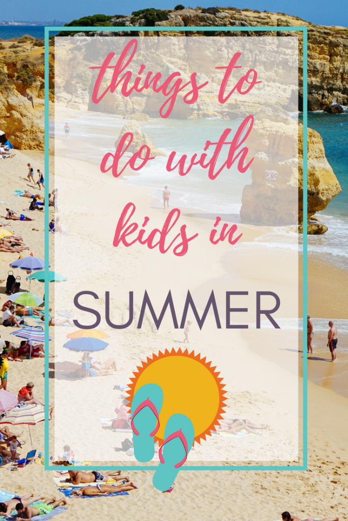 Things to Do with Kids in Summer  - We all know we can go to the pool or the beach, but what about when it's too hot to go outside? We've got tons of activities, many of them free, to keep you busy this summer!