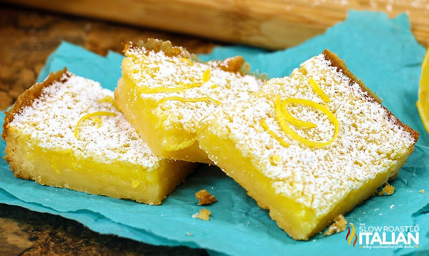Easy Lemon Bars | Easy Summer Desserts - 5 recipes to satisfy your summer sweet tooth! Bonus: Most are no-bake and can be taken with you to any summer occasion! | #summerdesserts #easydesserts #nobakedesserts