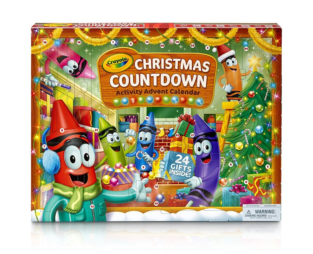 Crayola Christmas Countdown