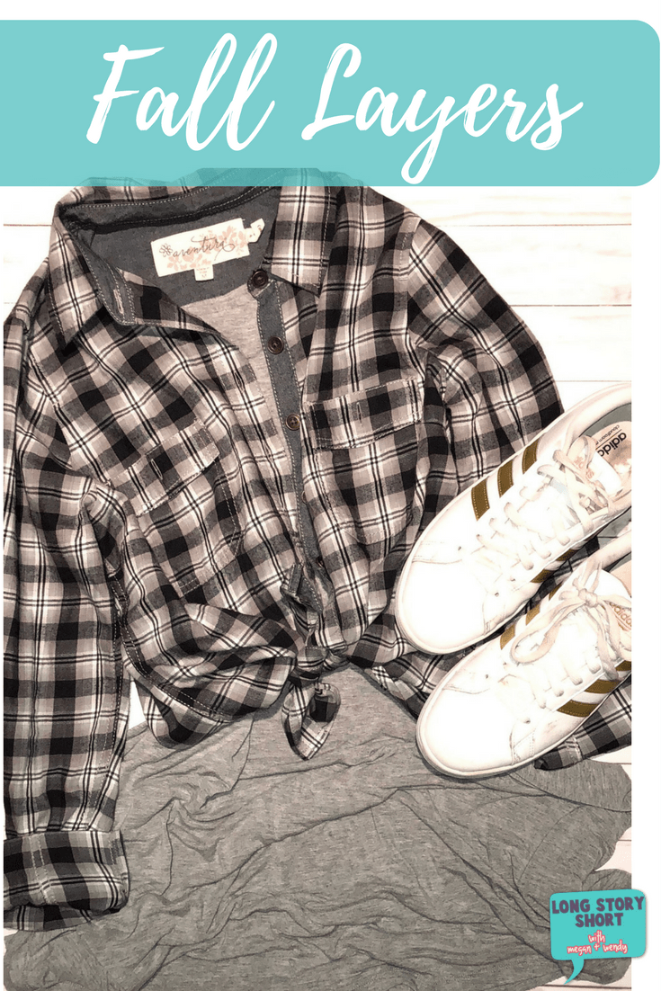 Warm Weather Fall Layers - When the weather won't cooperate with your plans for the perfect fall outfit, the best option is to layer so that you're comfortable all day! We're sharing one of our favorite ways to style fall layers.