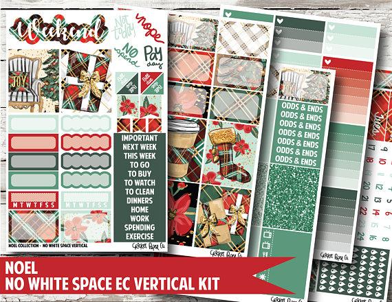 Noel Planner Stickers - Cricket Paper Co