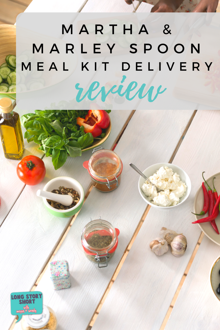 Did you try a meal kit delivery and it underdelivered? Read my review of Martha and Marley Spoon. Exception fresh produce, meat and a variety of recipes from Martha Stewart's archives.
