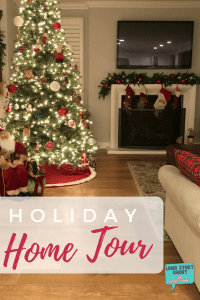 Holiday Home Tour – a peek inside our homes during the holidays