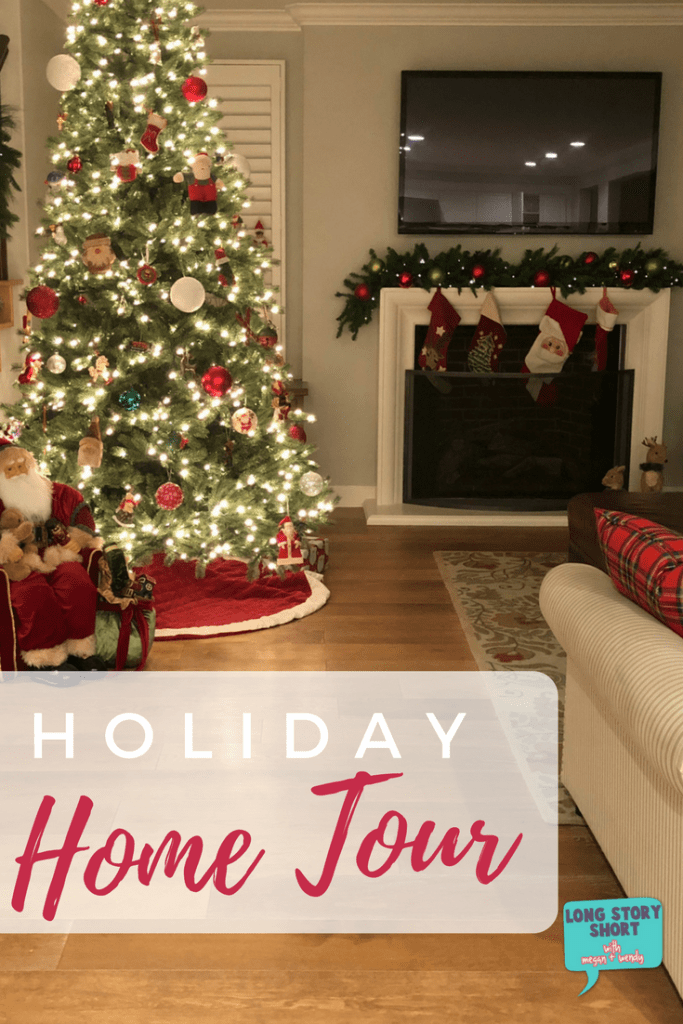 Holiday Home Tour - How we decorate our home for the holidays with a classic and modern styles. We're sharing our favorite Christmas decor traditions inside our own homes.