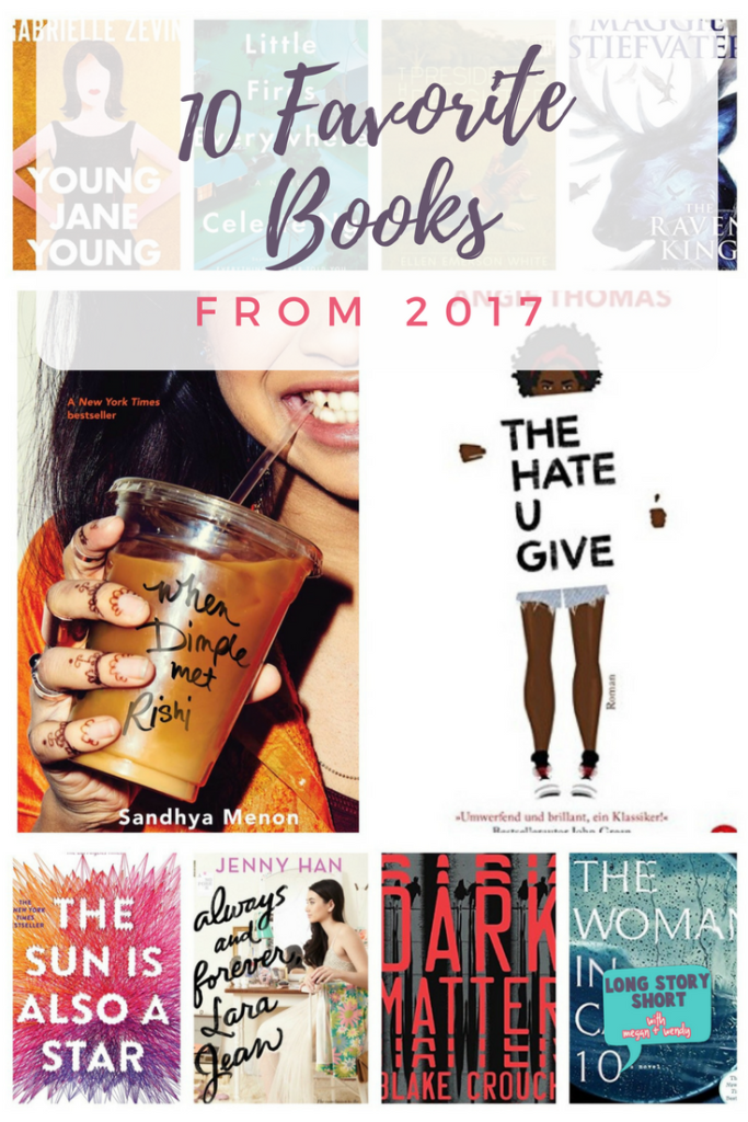 The Ten Best Books of 2017 - I ranked my ten favorite books from those I read in 2017