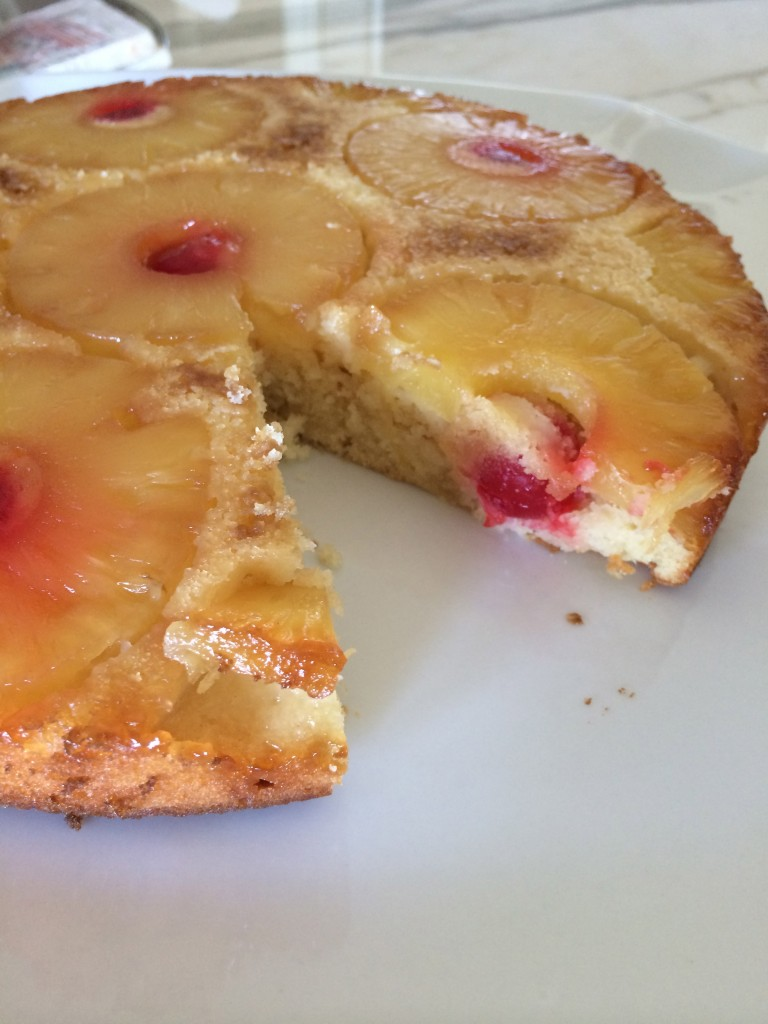 It's so very retro and doesn't even have Hawaiian origins but this recipe for Pineapple Upside Down Cake is going to get me to Hawaii again.