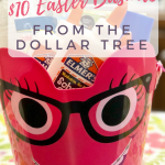 Easter Basket Inspiration at the Dollar Tree!